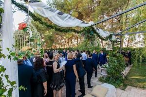 Protocolo en boda