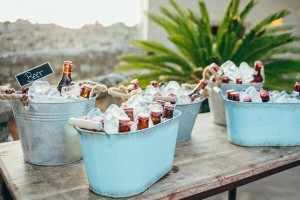 Barra de cervezas artesanas en boda
