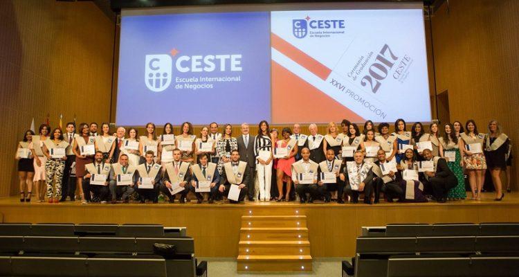 Entrega de diplomas CESTE