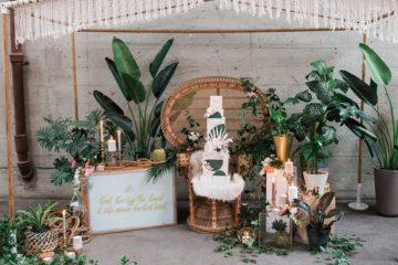 Inspiración para bodas tropicales