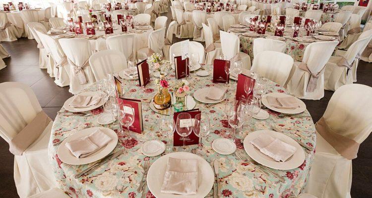 elección del menú de boda
