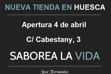 nueva tienda Saborea la vida Huesca