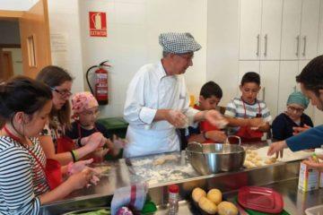 Taller de cocina con Aspanoa