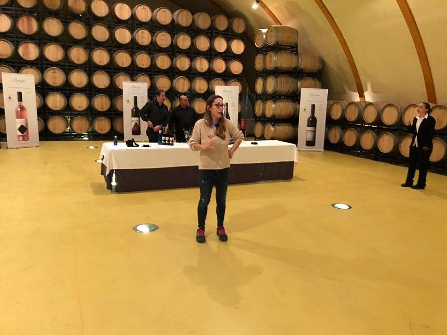 Cata de vino Tierra de Cubas