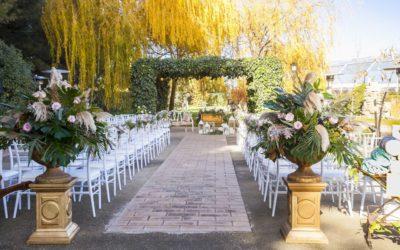 Consejos para celebrar una boda en exterior