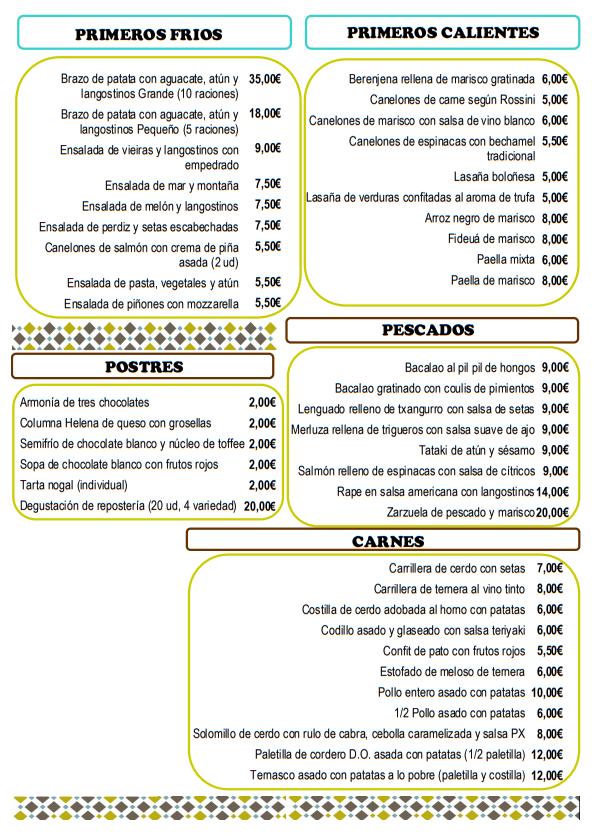 Platos preparados Zaragoza